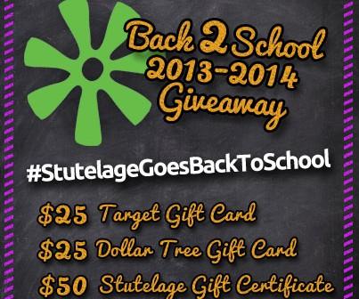 2013-2014 Back 2 School Giveaway!