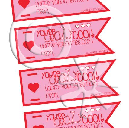 Stutelage Innovations :: Valentine\'s Day Crazy Straw Labels #2