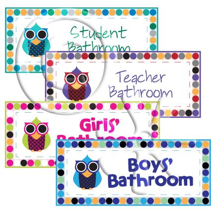 Owl Bathroom Preview