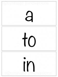 sight word 3